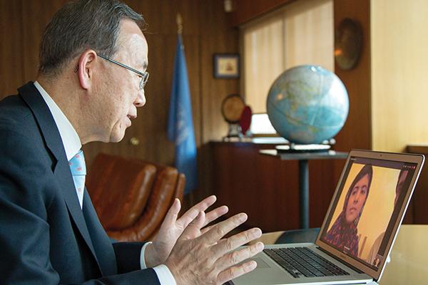 Rick Bajornas—U.N./AFP