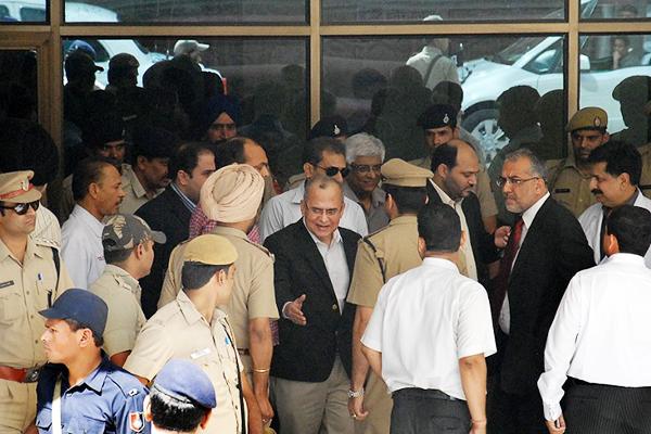 Salman Bashir in Chandigarh. Shammi Mehra—AFP