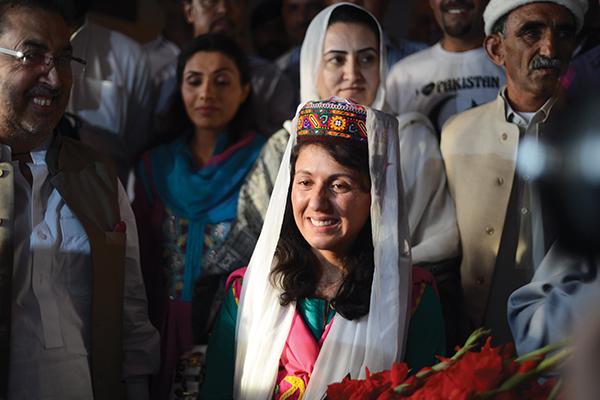 Samina Baig. Farooq Naeem—AFP