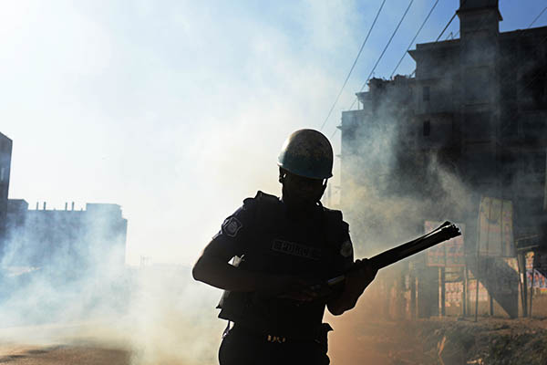 File Photo. Munir uz Zaman—AFP