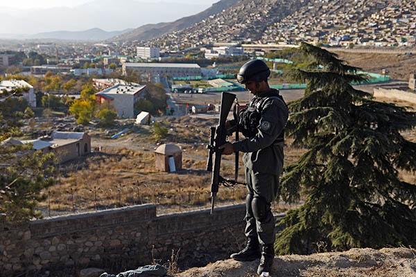 Massoud Hossaini—AFP