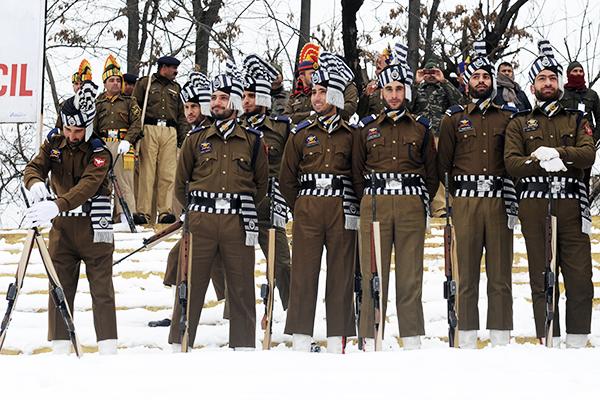 Srinagar, Jan. 24. Rouf Bhat—AFP