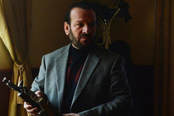 Salangi with his AK-47, Jan. 23. Shah Marai—AFP