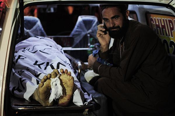 Karachi, Feb. 20. Asif Hassan—AFP