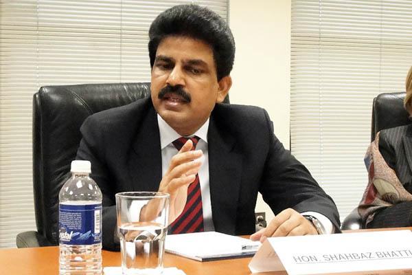 Shahbaz Bhatti, 2009. Shaun Tandon—AFP