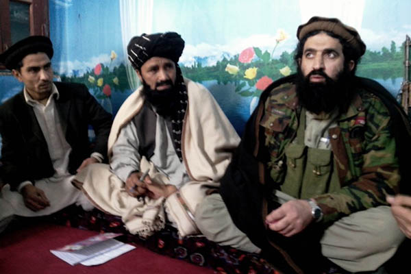 TTP spokesman Shahidullah Shahid. Naseer Azam—AFP