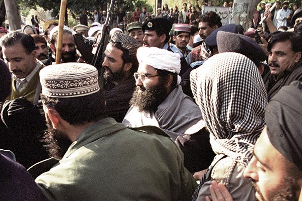 Azhar in Islamabad on Jan. 27, 2000. Tanveer Mughal—AFP