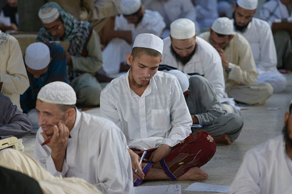 Students at a madrassah in Karachi. Rizwan Tabassum—AFP