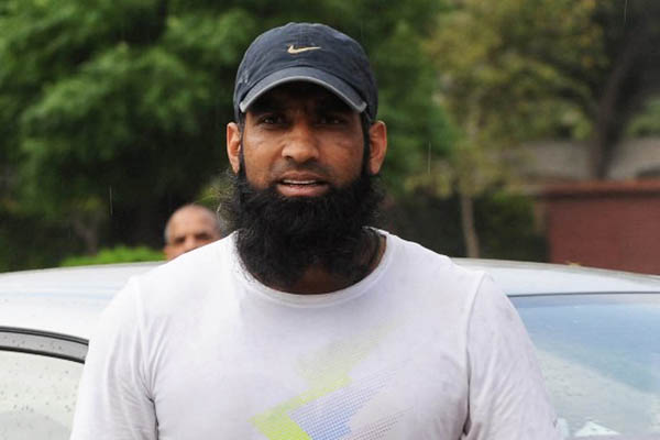 Former captain Mohammad Yousuf. Arif Ali—AFP