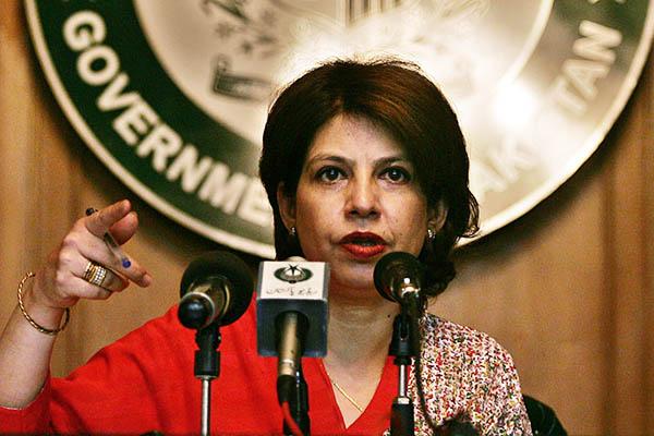 Former Ministry of Foreign Affairs spokesperson Tasnim Aslam. Aamir Qureshi—AFP