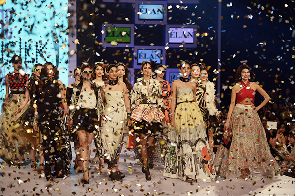 Élan at the PFDC Sunsilk Fashion Week. Arif Ali—AFP
