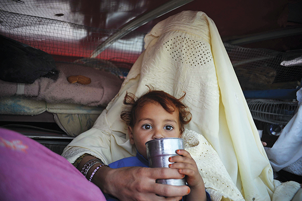 Hasham Ahmed—AFP