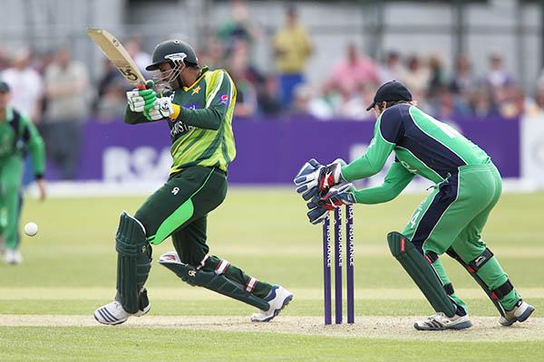 An ODI between Pakistan and Ireland, May 2013. Peter Muhly—AFP