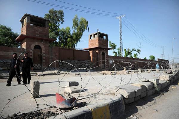 The Peshawar Central Jail. A. Majeed—AFP