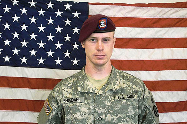 Bowe Bergdahl before the Taliban captured him in 2009. U.S. Army-HO—AFP