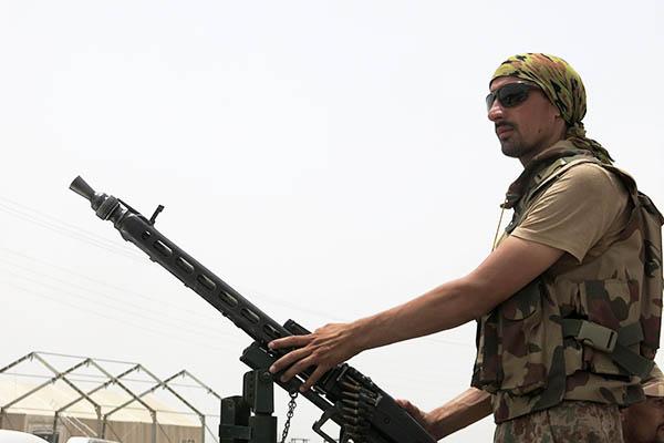 Karim Ullah—AFP