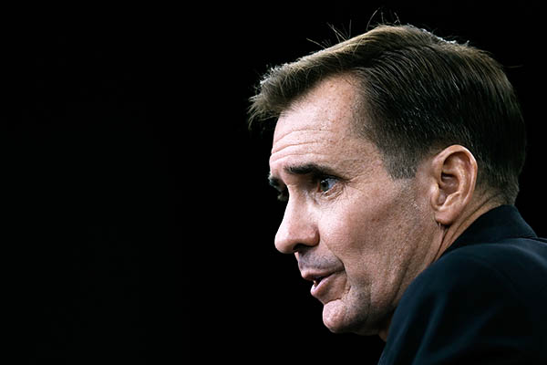 U.S. State Department spokesman John Kirby. Win McNamee—AFP