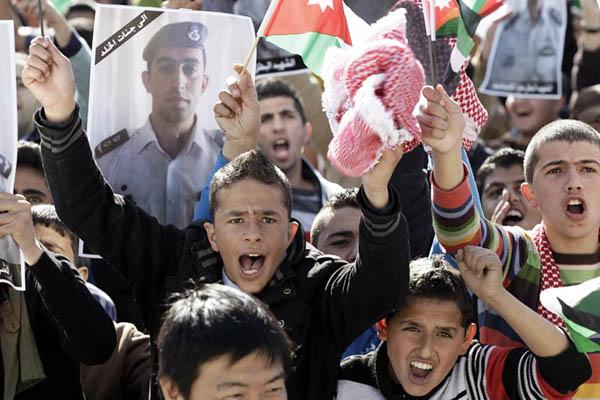 Khalil Mazraawi—AFP