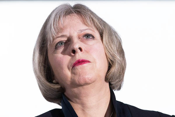 British Home Secretary Theresa May. Andrew Cowie—AFP