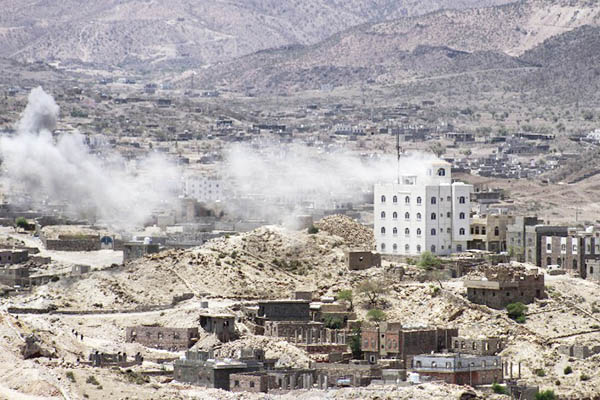 Taha Saleh—AFP