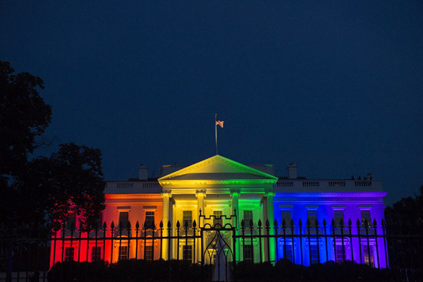 The White House, June 26. Molly Riley—AFP