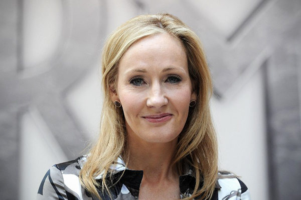 Rowling in London, June 23, 2011. Carl Court—AFP