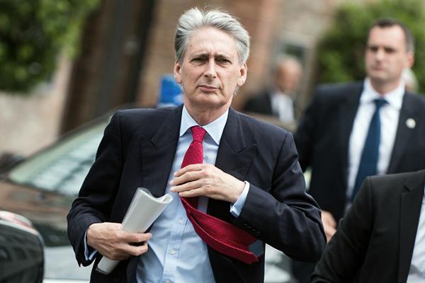 Hammond at the Palais Coburg Hotel, Vienna, June 28. Christian Bruna—AFP