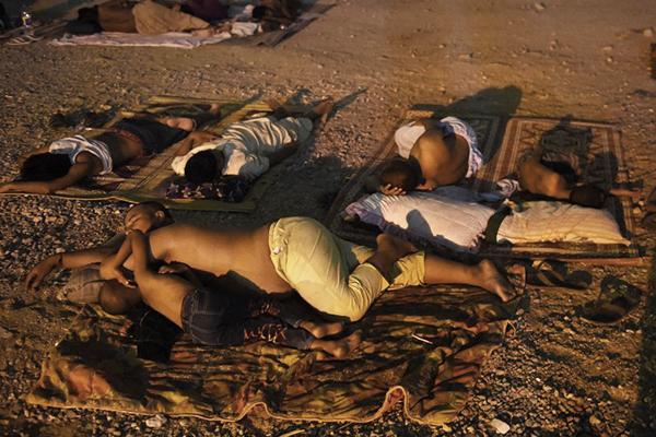 Karachi, June 28. Asif Hassan—AFP
