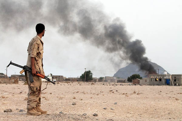 Saleh al-Obeidi—AFP