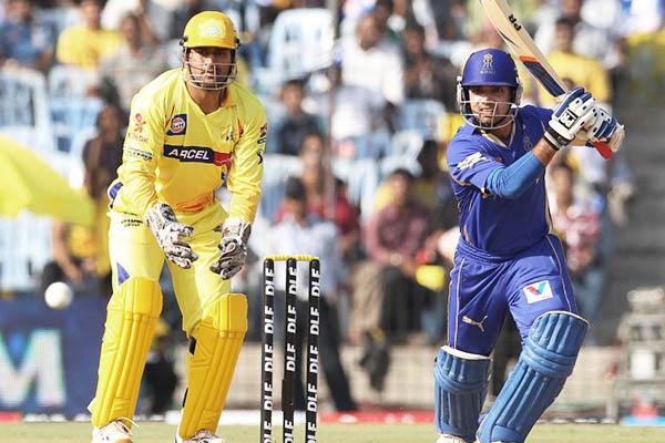 A 2012 match between the Chennai Super Kings and the Rajasthan Royals. Seshadi Sukumar—AFP