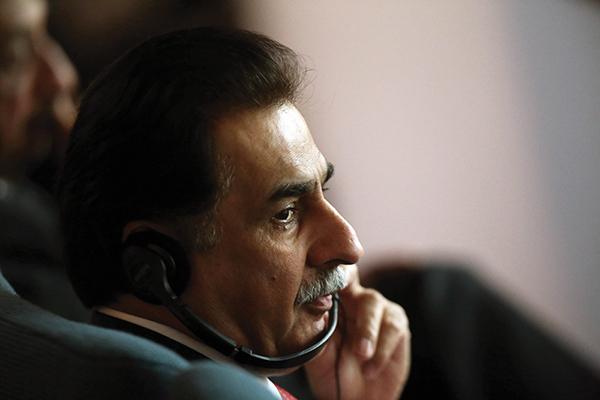 Sadiq in Kuwait, Dec. 16, 2014. Yasser al-Zayyat—AFP