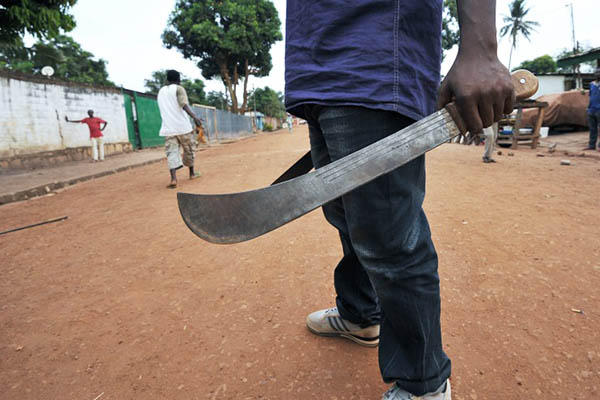 File Photo. Sia Kambou—AFP