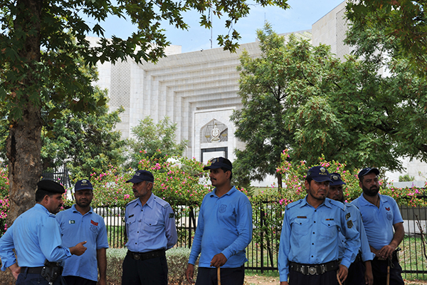 Pakistan's Supreme Court has been keeping watch over NAB. Farooq Naeem—AFP