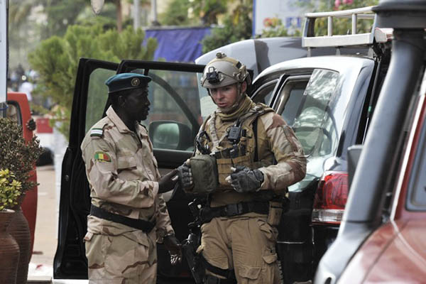 Habibou Kouyate—AFP
