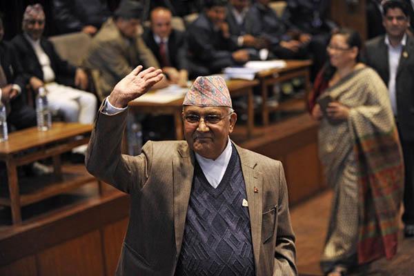 Prakash Mathema—AFP