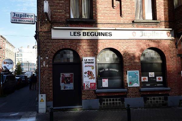 The Les Beguines bar owned by Brahim Abdeslam. Emmanuel Dunand—AFP