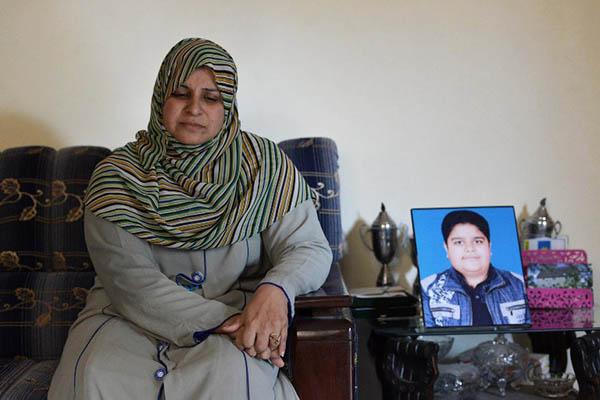 Chemistry teacher Andaleeb Aftab. A. Majeed—AFP