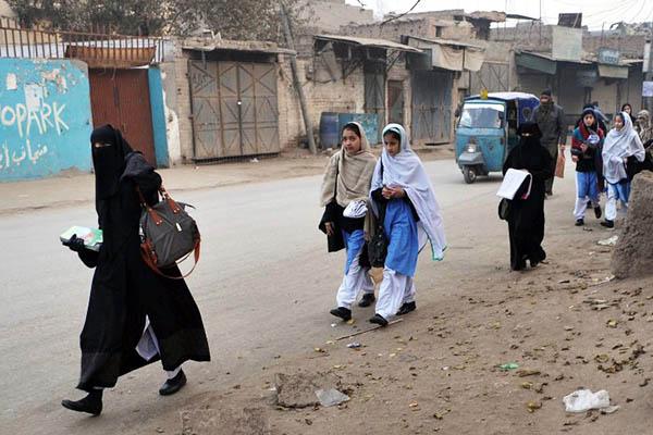 File Photo. Hasham Ahmed—AFP