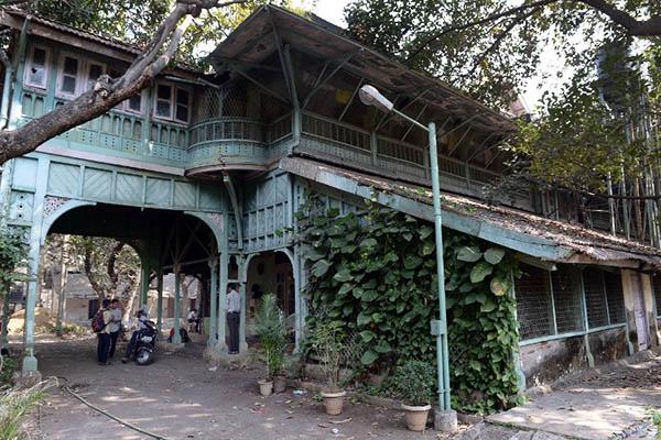 The Kipling Bungalow in Mumbai. Indranil Mukherjee—AFP
