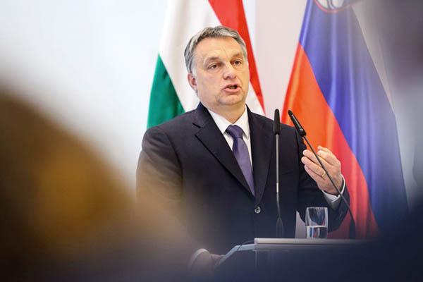 Hungarian Prime Minister Viktor Orban. Jure Makovec—AFP