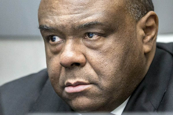 Former Congolese vice president Jean-Pierre Bemba. Jerry Lampen-ANP—AFP
