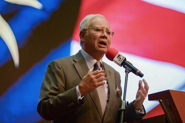 Malaysia Prime Minister Najib Razak. Mohd Rasfan—AFP