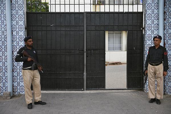 An antiterrorism court in Karachi. Rizwan Tabassum—AFP