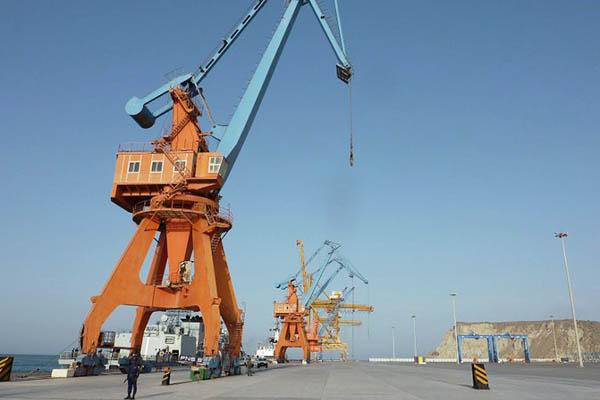 The port of Gwadar in Balochistan province. Sarah Titterton—AFP