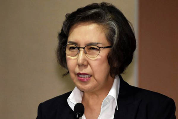 United Nations Special Rapporteur on Human Rights Yanghee Lee. Romeo Gacad—AFP