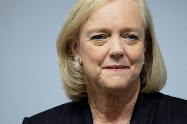 Conservative Meg Whitman announced her support for Hillary Clinton on Aug. 2. Jewel Samad—AFP