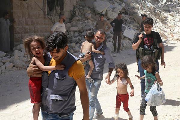 Baraa Al-Halabi—AFP