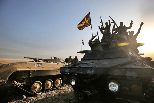 Ahmad al-Rubaye—AFP
