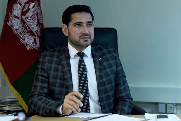 Mohammed Alif Urfani, general director of the Criminal Justice Center against Corruption. Wakil Kohsar—AFP