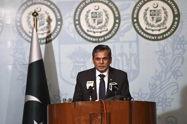 Pakistan Foreign Ministry spokesman Nafees Zakariya. Farooq Naeem—AFP